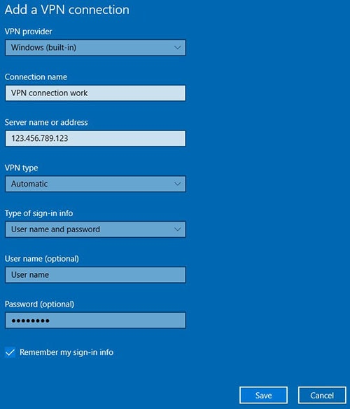 add a vpn connection windows blue screen - Always On Vpn Windows 10 Step By Step