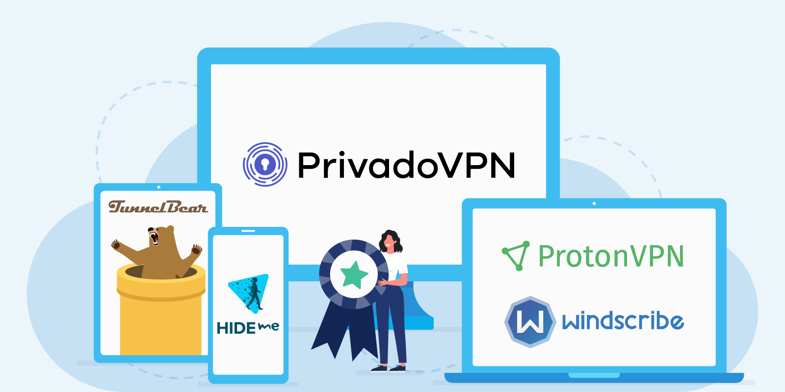 Top 6 Truly Free Vpn Providers Of October 2021 Vpnoverview