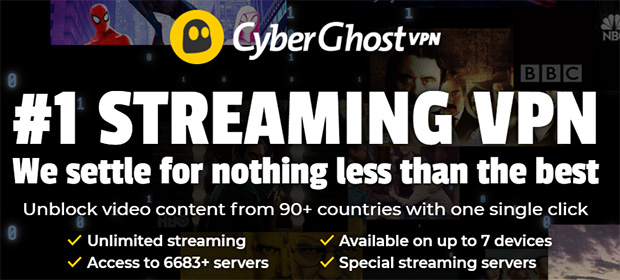 CyberGhost Banner Black Friday Cyber Monday 2020