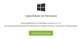 CyberGhost Windows
