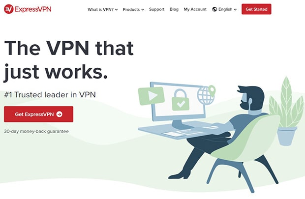 ExpressVPN Review Homepage Website