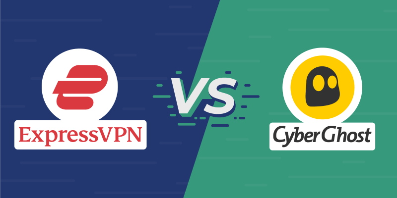 ExpressVPN vs CyberGhost Featured Image New