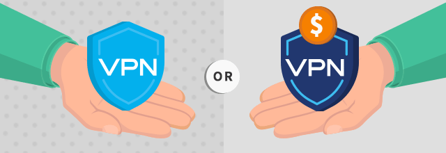 Two hands holding up VPN shields