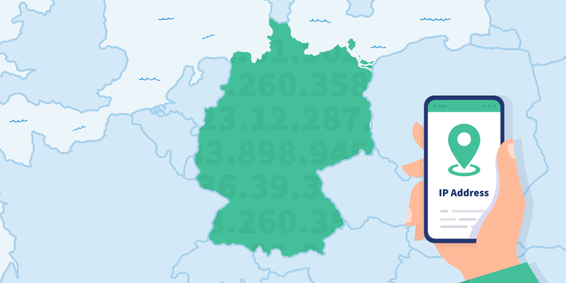 Accessing a VPN server in Germany