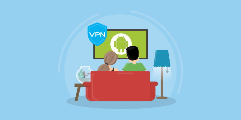 Install VPN Android TV