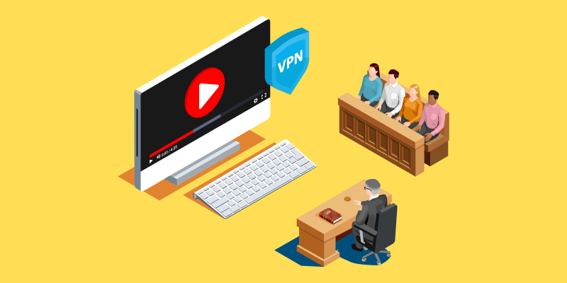 Is Streaming a FIlm or Series Legal With VPN Featured