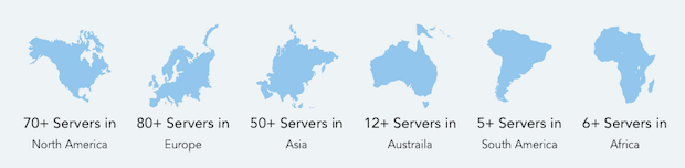Ivacy-servers-continent
