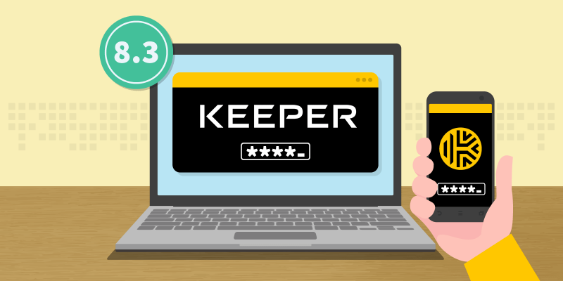 Keeper Password Manager Review featured image