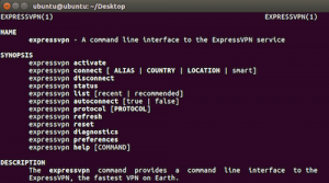 Linux terminal, command lines
