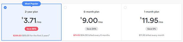 Nord VPN prices subscriptions