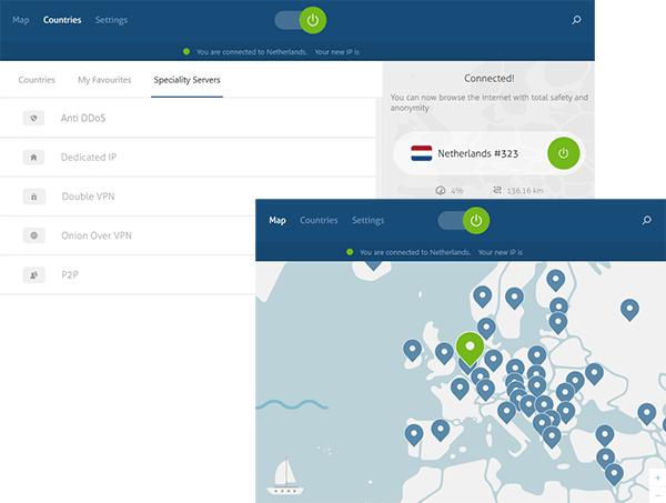 NordVPN Screenshots Windows