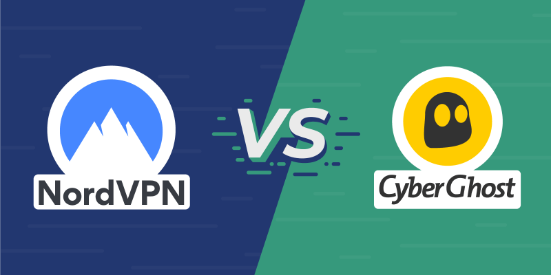 NordVPN vs CyberGhost Featured