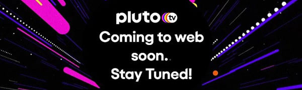 Pluto TV unavailable notification