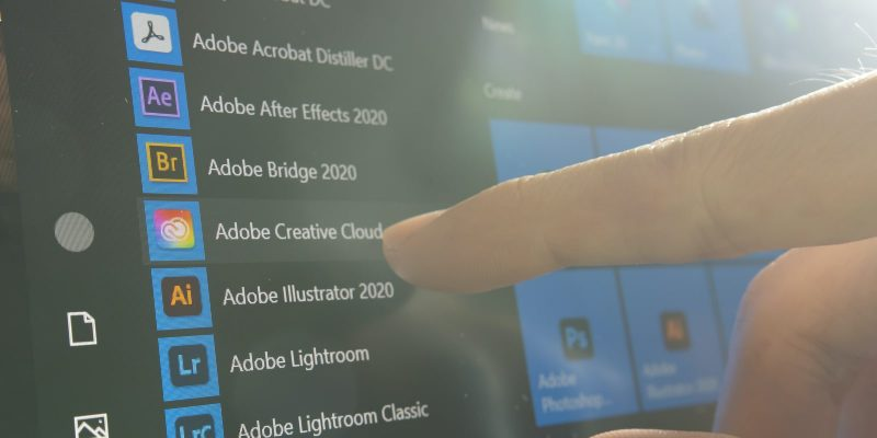 Adobe Product Line Photograph