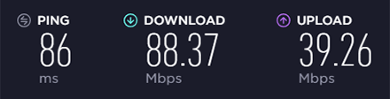 Speedtest NordVPN US