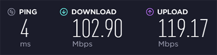 Speedtest NordVPN Without VPN