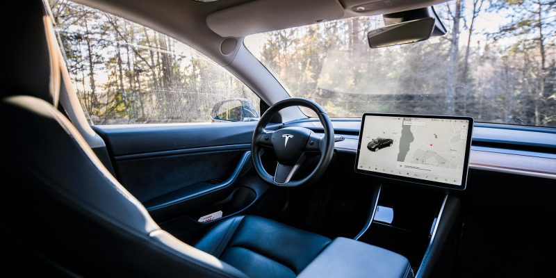 Photo of Tesla's Model 3 interior - Tesla's In-Car Camera's May Pose Privacy Concerns
