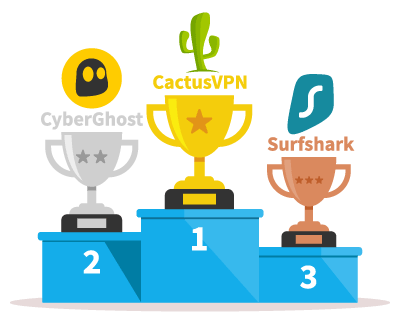 Top 3 fastest VPNs local server