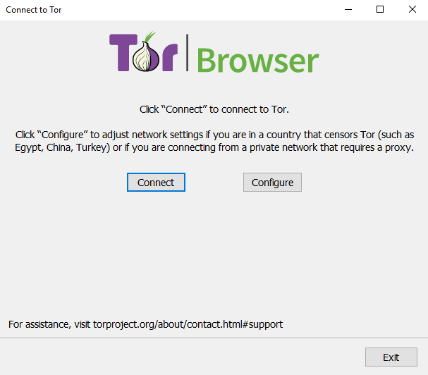 Tor Browser Connect
