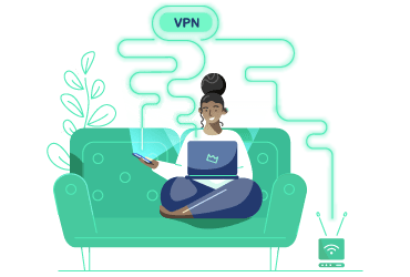VPN Category Illustration Homepage