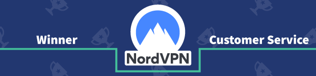 VPN Provider vs Provider Winner Customer Service Banner NordVPN