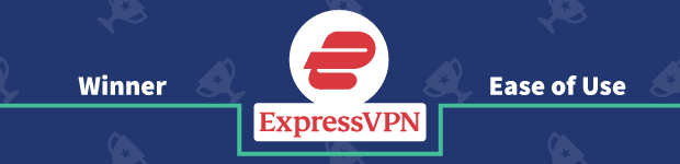 VPN Provider vs Provider Winner Ease of Use Banner ExpressVPN
