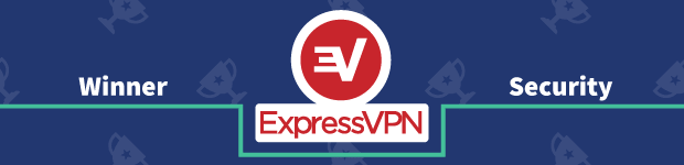 VPN Provider vs Provider Winner Security Banner ExpressVPN
